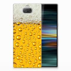 Sony Xperia 10 Plus Siliconen Case Bier