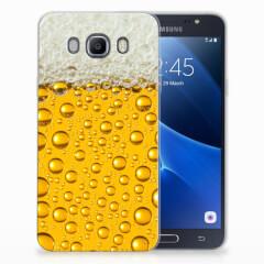 Samsung Galaxy J7 2016 Siliconen Case Bier