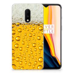 OnePlus 7 Siliconen Case Bier