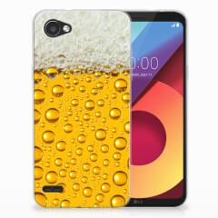 LG Q6   LG Q6 Plus Siliconen Case Bier
