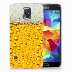 Samsung Galaxy S5 Siliconen Case Bier