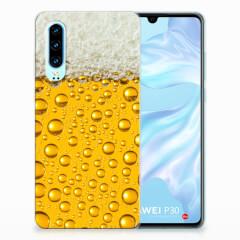 Huawei P30 Siliconen Case Bier
