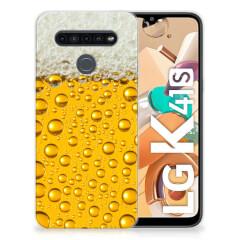 LG K41s Siliconen Case Bier