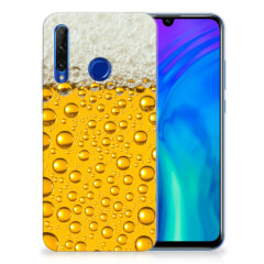 Honor 20 Lite Siliconen Case Bier