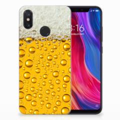 Xiaomi Mi 8 Siliconen Case Bier