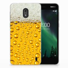 Nokia 2 Siliconen Case Bier