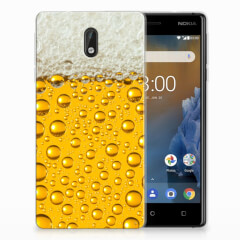 Nokia 3 Siliconen Case Bier