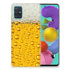 Samsung Galaxy A51 Siliconen Case Bier