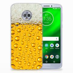 Motorola Moto G6 Plus Siliconen Case Bier