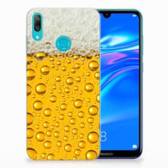 Huawei Y7 2019 Siliconen Case Bier