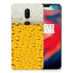 OnePlus 6 Siliconen Case Bier