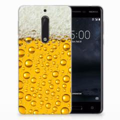 Nokia 5 Siliconen Case Bier