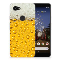 Google Pixel 3A Siliconen Case Bier