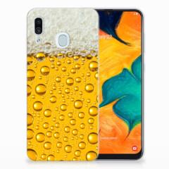 Samsung Galaxy A30 Siliconen Case Bier