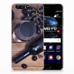 Huawei P10 Siliconen Case Wijn