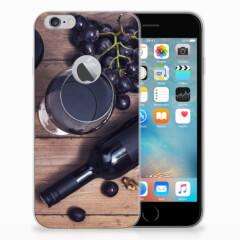 Apple iPhone 6 Plus | 6s Plus Siliconen Case Wijn