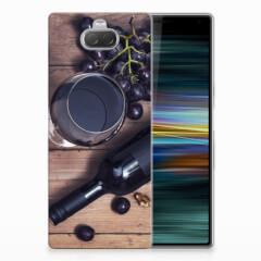 Sony Xperia 10 Plus Siliconen Case Wijn