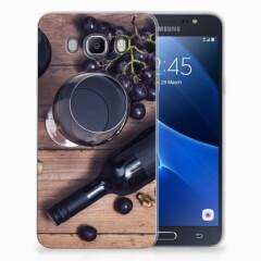Samsung Galaxy J7 2016 Siliconen Case Wijn