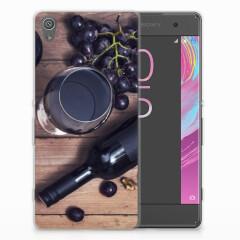Sony Xperia XA | XA Dual Siliconen Case Wijn