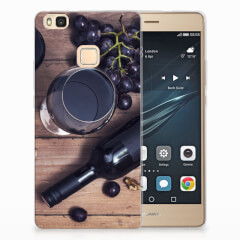 Huawei P9 Lite Siliconen Case Wijn