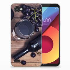 LG Q6   LG Q6 Plus Siliconen Case Wijn