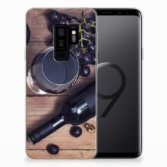 Samsung Galaxy S9 Plus Siliconen Case Wijn