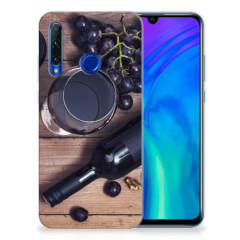 Honor 20 Lite Siliconen Case Wijn