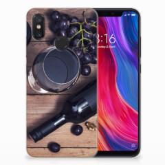 Xiaomi Mi 8 Siliconen Case Wijn