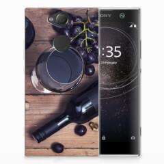 Sony Xperia XA2 Siliconen Case Wijn