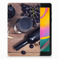 Samsung Galaxy Tab A 8.0 (2019) Tablet Cover Wijn