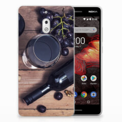 Nokia 2.1 (2018) Siliconen Case Wijn