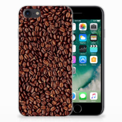 iPhone SE (2020) | 7/8 Siliconen Case Koffiebonen