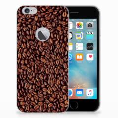 Apple iPhone 6 Plus | 6s Plus Siliconen Case Koffiebonen