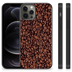 iPhone 12 Pro Max Silicone Case Koffiebonen