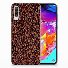 Samsung Galaxy A70 Siliconen Case Koffiebonen