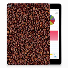 Apple iPad 9.7 2018 | 2017 Tablet Cover Koffiebonen