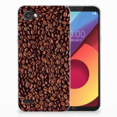 LG Q6   LG Q6 Plus Siliconen Case Koffiebonen