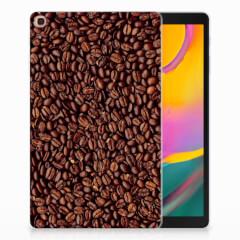 Samsung Galaxy Tab A 10.1 (2019) Tablet Cover Koffiebonen