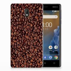 Nokia 3 Siliconen Case Koffiebonen