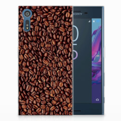 Sony Xperia XZs | XZ Siliconen Case Koffiebonen