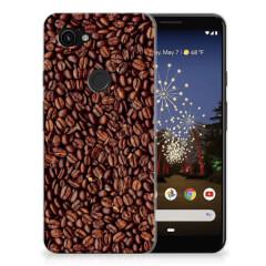 Google Pixel 3A Siliconen Case Koffiebonen