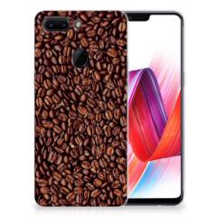 OPPO R15 Pro Siliconen Case Koffiebonen