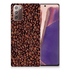 Samsung Note 20 Siliconen Case Koffiebonen