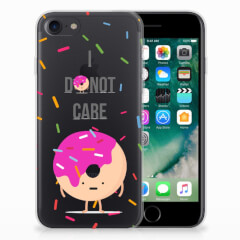 iPhone SE (2020) | 7/8 Siliconen Case Donut Roze