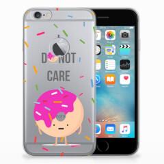 Apple iPhone 6 Plus | 6s Plus Siliconen Case Donut Roze