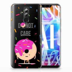 Huawei Mate 20 Lite Siliconen Case Donut Roze