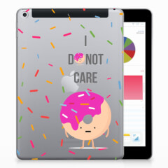 Apple iPad 9.7 2018 | 2017 Tablet Cover Donut Roze