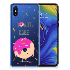 Xiaomi Mi Mix 3 Siliconen Case Donut Roze
