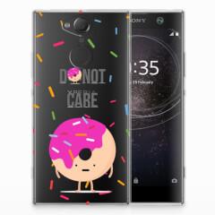 Sony Xperia XA2 Siliconen Case Donut Roze