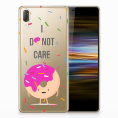 Sony Xperia L3 Siliconen Case Donut Roze